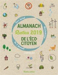 L'almanach Rustica 2019 de l'écocitoyen