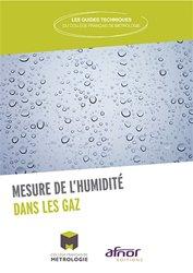 La mesure de l'humidité dans les gaz