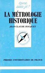 La métrologie historique