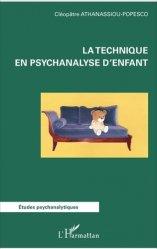 La technique en psychanalyse d'enfant