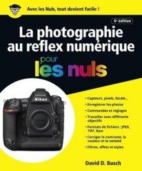 La photographie au reflex numérique pour les nuls