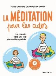 la méditation pour les jeunes ados + CD