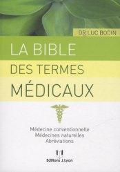 La bible des termes médicaux