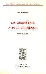La géométrie non euclidienne