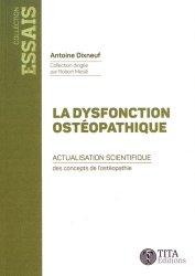 La dysfonction ostéopathique