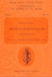 Les Hétéroptères Mirides de France Tome 1 Bis : les secteurs biogéographiques (suite)