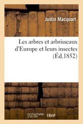 Les arbres et arbrisseaux d'Europe et leurs insectes