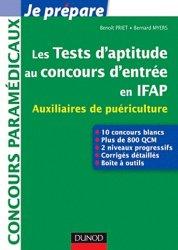 Les tests d'aptitude au concours d'entrée en IFAP