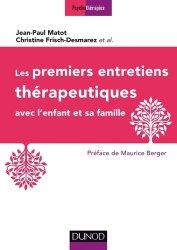 Les premiers entretiens thérapeutiques - avec l'enfant et sa famille