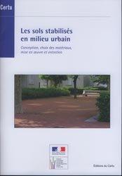 Les sols stabilisés en milieu urbain