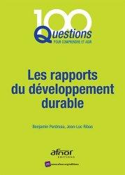 Les rapports du développement durable