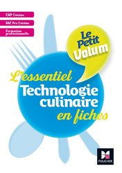 Le Petit Volum' Technologie culinaire