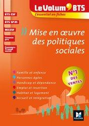 Le Volum' BTS - Mise en oeuvre des politiques sociales