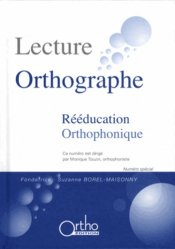 Lecture Orthographe