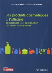 Les produits cosmétiques à l'officine