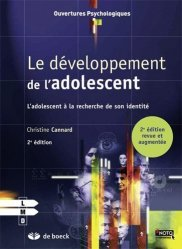 Le developpement de l'adolescent