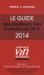 Le guide des meilleurs vins à moins de 20 euros 2014