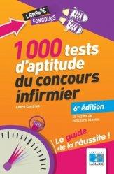 1000 tests d'aptitude du concours infirmier