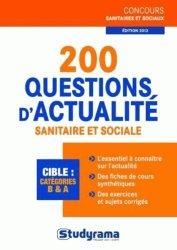 200 questions d'actualité sanitaire et sociale