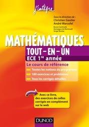 Mathématiques Tout-en-un ECE 1re année