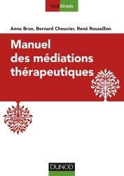 Manuel des médiations thérapeutiques