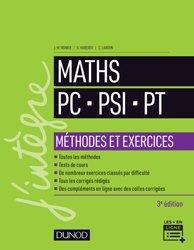 Mathématiques Méthodes et Exercices PC-PSI-PT