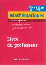 Mathématiques Tle STI2D, STL (2016) - Livre du professeur