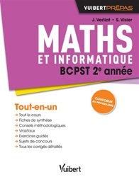 Maths et informatique BCPST 2e année