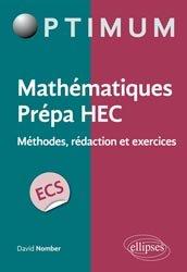 Mathématiques Prépa HEC - Voie ECS