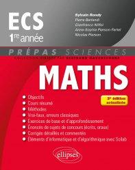 Maths ECS 1re année