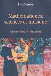 Mathématiques, sciences et musique