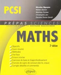 Maths PCSI
