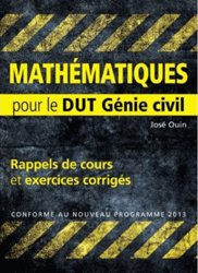 Mathématiques pour le DUT de Génie civil