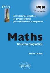 Maths PCSI Deuxième période