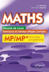 Maths MP - MP*