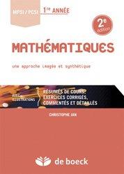 Mathématiques MPSI / PCSI 1re année