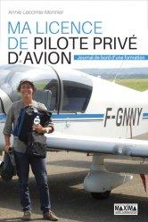 Ma licence de pilote privé d'avion