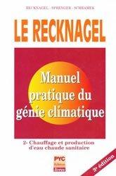 Manuel pratique de génie climatique - Tome 2