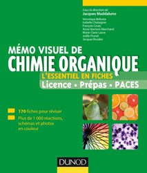 Mémo visuel de chimie organique