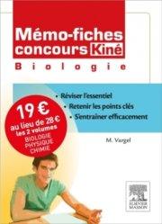 Mémo-fiches concours Kiné pack 2 volumes