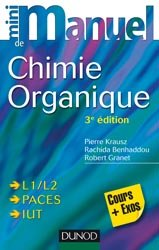 Mini manuel de Chimie organique