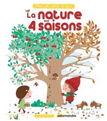 Mon joli cahier de jeux : la nature aux 4 saisons