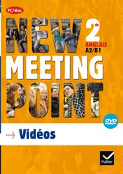 New Meeting Point 2de : DVD vidéo