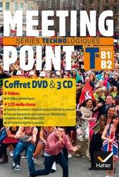 New Meeting Point Terminale Séries Technologiques : Coffret 3 CD Audio 1 DVD