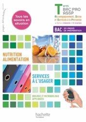 Nutrition-alimentation, services à l'usager Terminale Bac Pro ASSP