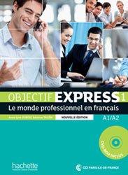 OBJECTIF EXPRESS 1 A1 A2 LIVRE ELEVE + DVD