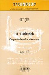 Optique La colorimétrie
