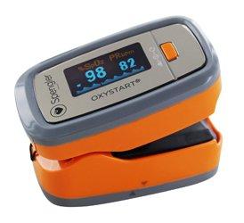 OXYSTART - Oxymètre de pouls digital avec housse SPENGLER