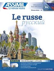 Pack CD - Le Russe - Débutants et Faux-débutants