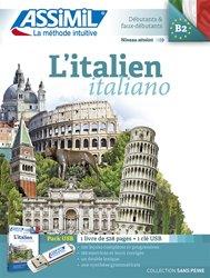 Pack USB - L'Italien - Italiano - Débutants et Faux -débutants